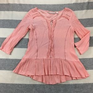 LC Lauren Conrad Pink Medium Blouse